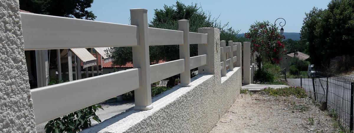 Clôtures ALU ou PVC