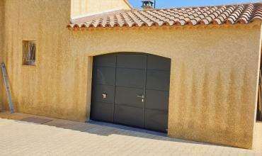 PORTE GARAGE SECTIONELLE - DOMESSARGUES